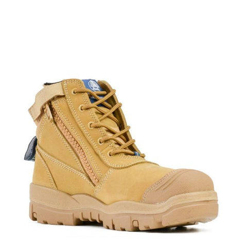 Footwear - Bata Helix Horizon Zip Sided Safety Boot