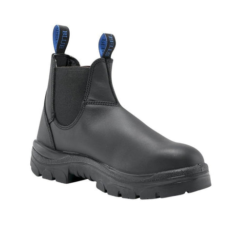 Footwear - Steel Blue Hobart Elastic Side Boot Non Safety Work Boots