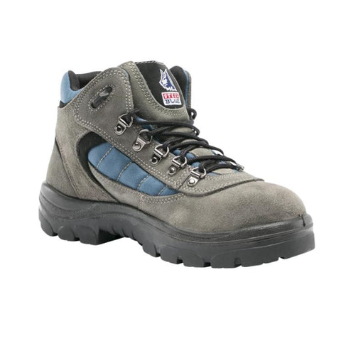 Footwear - Steel Blue Wagga Lace Up Hiker Work Boots