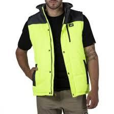 High Vis Clothing - CAT Workwear Hi Vis Hooded Work Vest