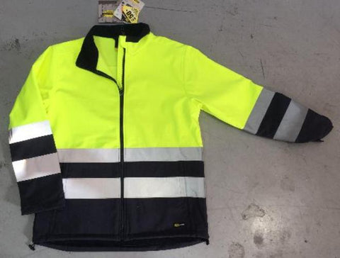 High Vis Clothing - Diadora Work Hi Vis Jacket Softshell Day Night