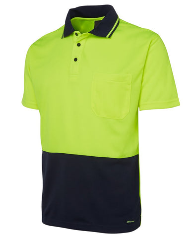 High Vis Clothing - JBs Wear Hi Vis Polo Shirt 4602.1 Non Cuff Traditional Polo