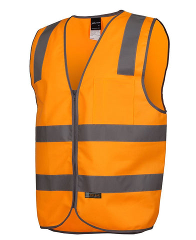 High Vis Clothing - JBs Wear Vic Rail Safety Vest Day Night