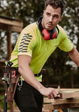 High Vis Clothing - Syzmik HI Vis Polo Shirt Mens Komodo