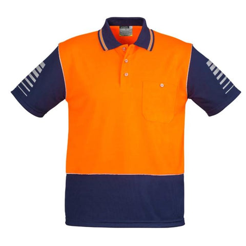 High Vis Clothing - Syzmik Hi Vis Polo Shirt Mens Zone