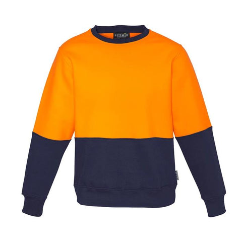 High Vis Clothing - Syzmik Hi Vis Sweatshirt Unisex Crew Neck
