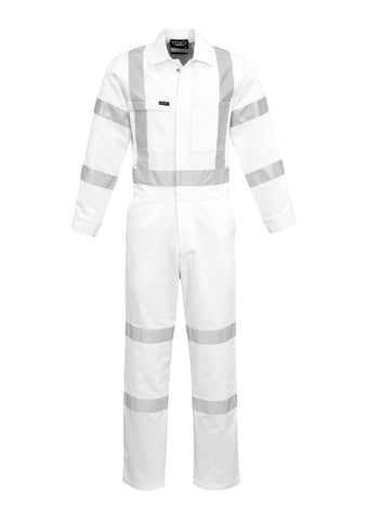 High Vis Clothing - Syzmik Overall Taped Bio Motion X Back