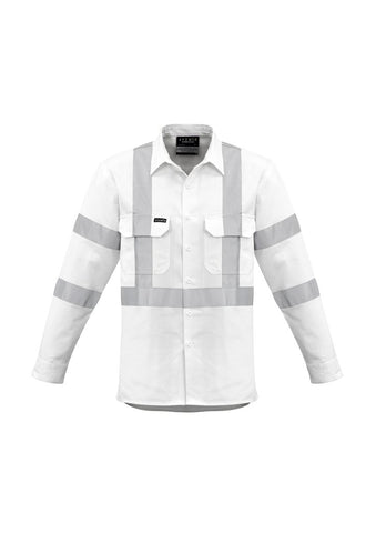 High Vis Clothing - Syzmik Work Shirt Taped Bio Motion X Back