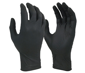 Safety - Black Sheild Disposable Nitrile Gloves Extra Heavy Duty