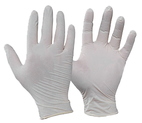 Safety - Latex Disposable Gloves Powder Free