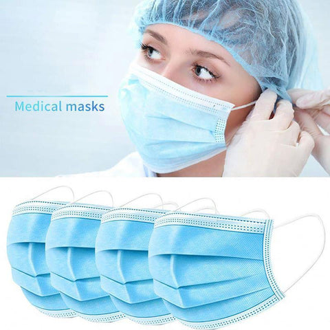 Safety - Medical Disposable Face Mask 3 Ply