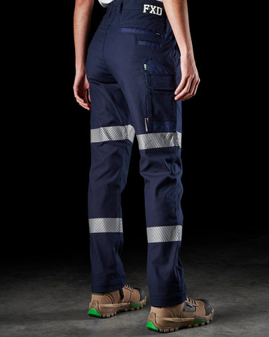 Workwear - FXD Womens Reflective Work Pant 360 Degree Stretch