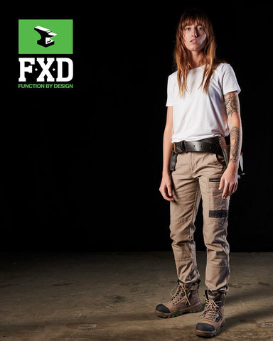 Workwear - FXD Womens Work Pant Cuffed 360 Degree Stretch