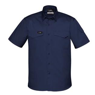 Workwear - Syzmik Work Shirt Mens Rugged Cooling Short Sleeve