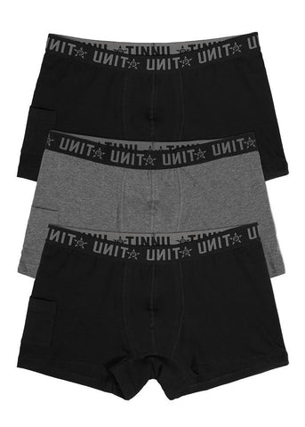 Workwear - UNIT Mens Underwear 3 Pack Day To Day
