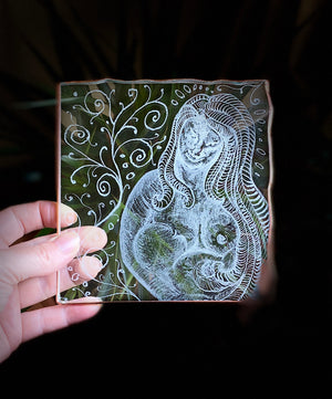 Etching on Glass