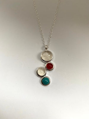 Four stone pendant 50% OFF, NOW £80