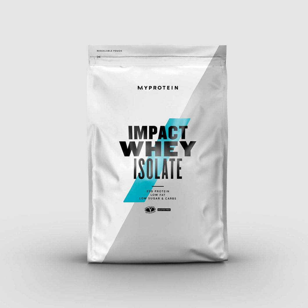 Myprotein Impact Whey Isolate – 2.5 kg (5.5 lb)