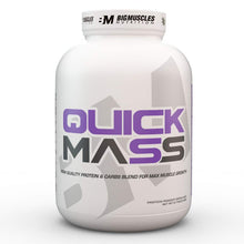 Load image into Gallery viewer, Big Muscles Nutrition Quick Mass 6lbs (Chocolate Malt )