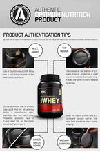 Load image into Gallery viewer, ON (Optimum Nutrition) Gold Standard 100% Whey - 909 g (2 lb)