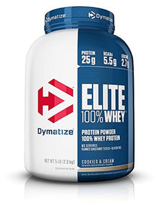Dymatize Elite 100% Whey Protein Powder – 2.3 kg (5 lb)