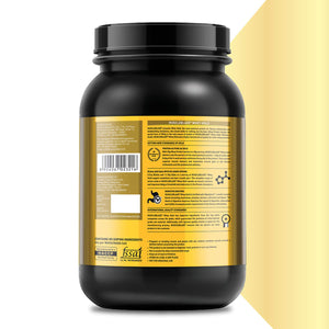 MuscleBlaze Whey Gold 100% Whey Protein Isolate – 1 kg (2.2 lb)
