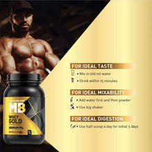 Load image into Gallery viewer, MuscleBlaze Whey Gold 100% Whey Protein Isolate – 1 kg (2.2 lb)