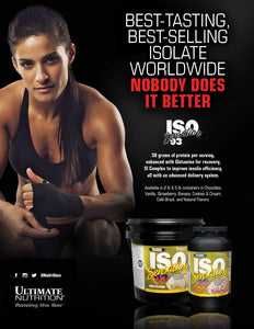 Ultimate Nutrition ISO Sensation 93 Whey Protein Isolate – 2.27 kg (5 lb)