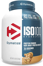 Load image into Gallery viewer, Dymatize Nutrition ISO 100- 5 LB