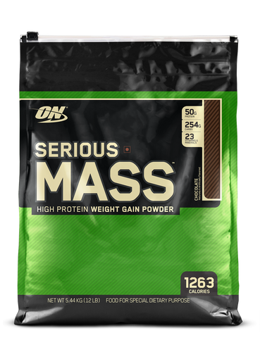 ON (Optimum Nutrition) Serious Mass - 5.44 kg (12 lb)