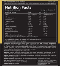 Load image into Gallery viewer, One Science Nutrition Nitra Whey 5lbs - Chocolate Brownie