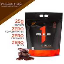 Load image into Gallery viewer, Rule 1 Protein - 4.56 kg (152 Serving, Chocolate Fudge)- Isolates and Hydrolysed