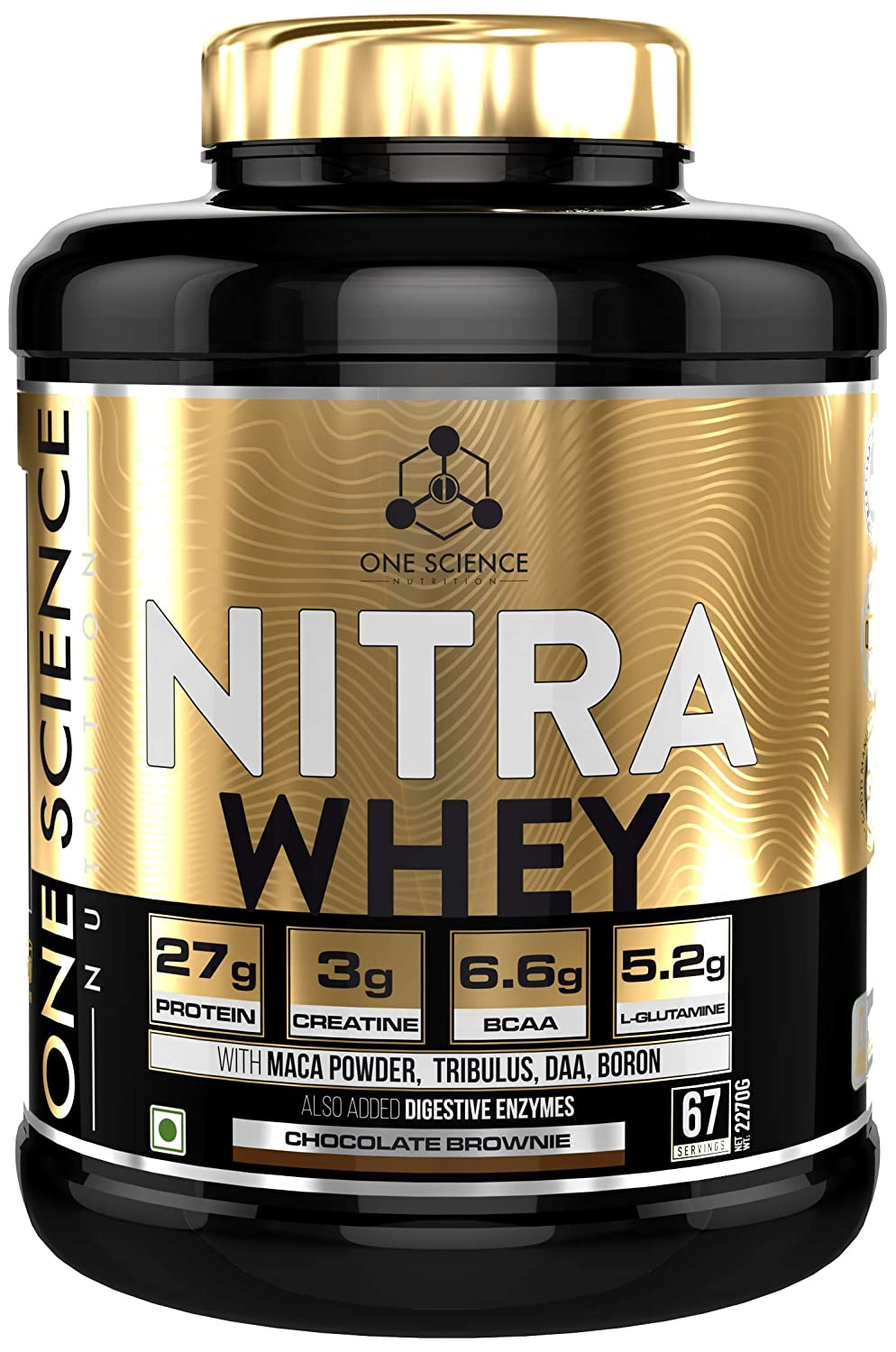 One Science Nutrition Nitra Whey 5lbs - Chocolate Brownie