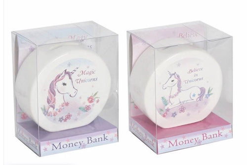 Believe In Unicorns Money Box