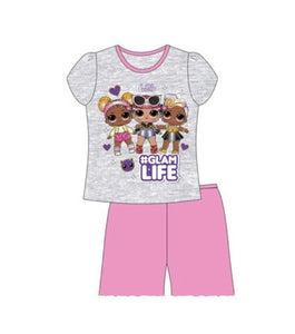 Official L.O.L Glam Life Short Pyjamas