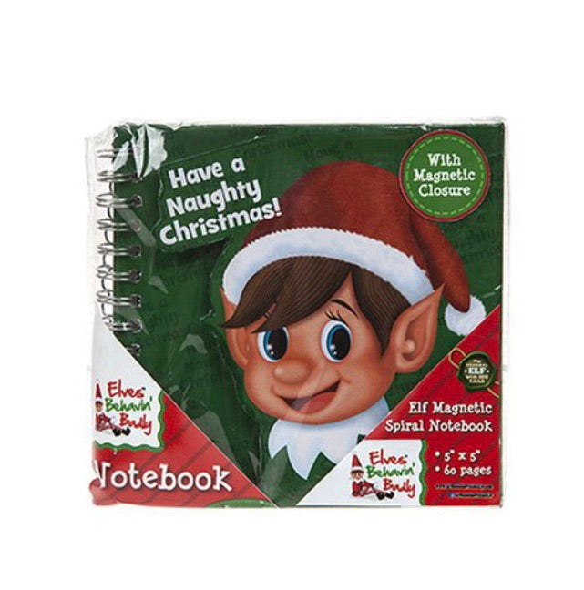 Naughty Elf Notebook
