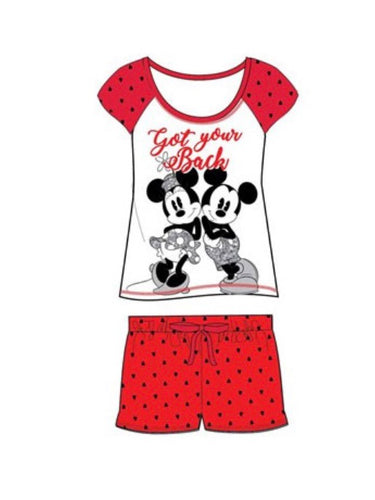 Minnie Mouse Short Pjs