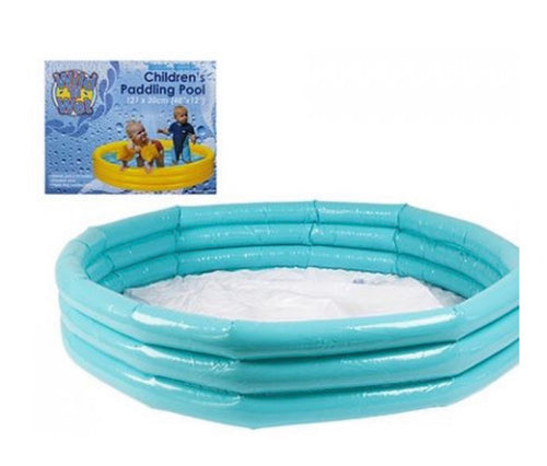 3 Ring Kids Paddling Pool
