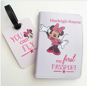 Personalised Passport Holder and Luggage Tag