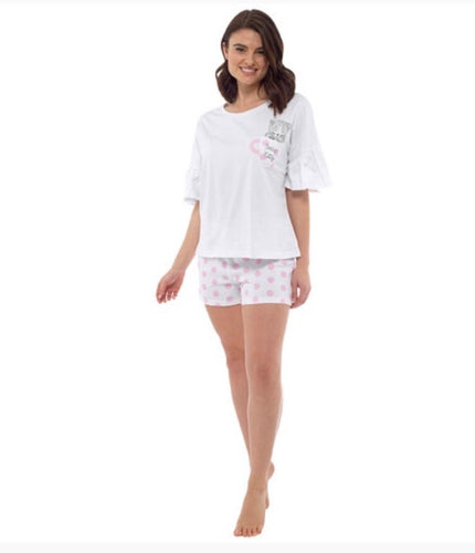 Tea Cup Kitty Short Pjs