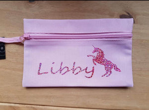 Personalised Pencil Case - Various Designs