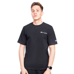 CAMISETA CHAMPION LOGO BORDADO PRETO