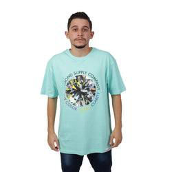 CAMISETA DIAMOND CLARITY TEE AZUL