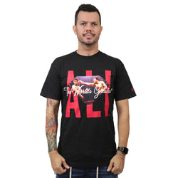 CAMISETA DIAMOND X MUHAMMAD ALI SIGN PRETO