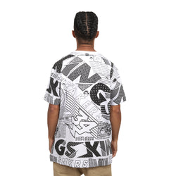 CAMISETA KINGS SNEAKERS ESTAMPADA BRANCO