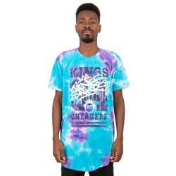 CAMISETA KINGS SNEAKERS TIE DYE NEW AZUL MASCULINO