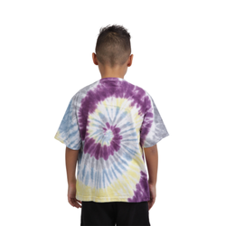 CAMISETA KINGS SNEAKERS TIE DYE ROXO JUVENIL