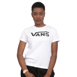 CAMISETA VANS FLYING V CREW BRANCO