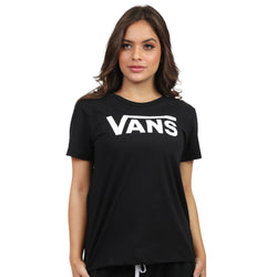 CAMISETA VANS FLYING V CREW PRETO