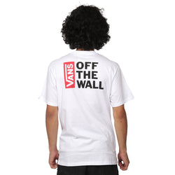 CAMISETA VANS OFF THE WALL BRANCO